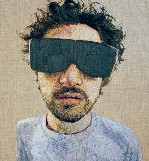 Daniel Kornrumpf Embroidery Portrait 3