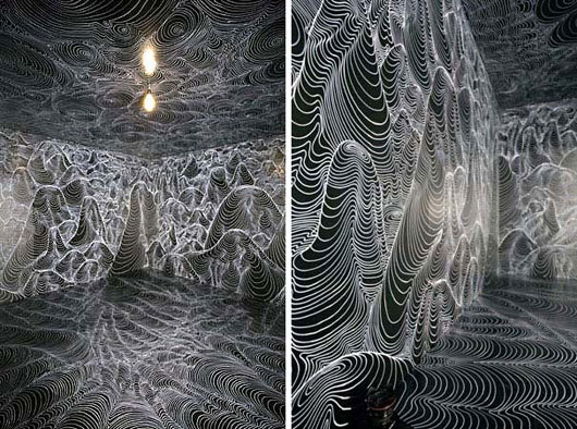 3D Installation Art-3 by Heike Weber