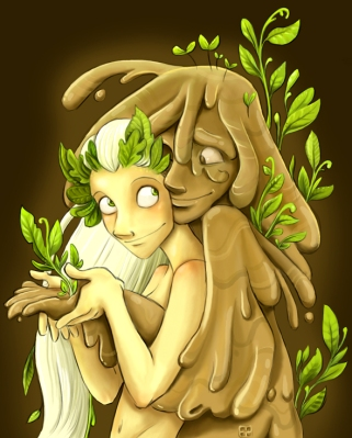 Mudman_and_Spring__by_stressedjenny