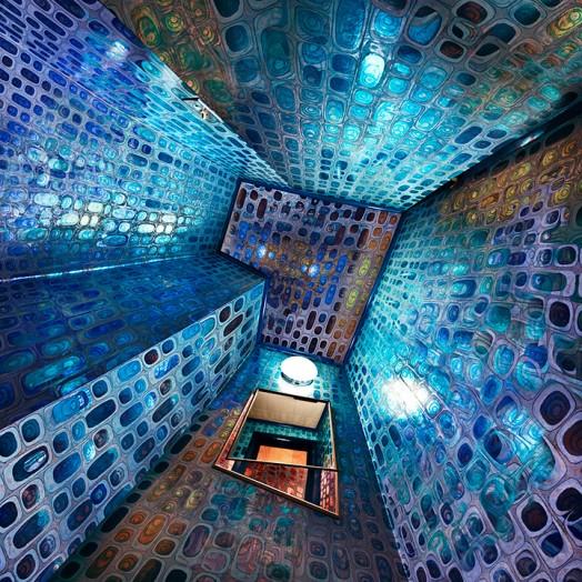 """Blue Vault"" by Raissa Venables. Copyright 2010."