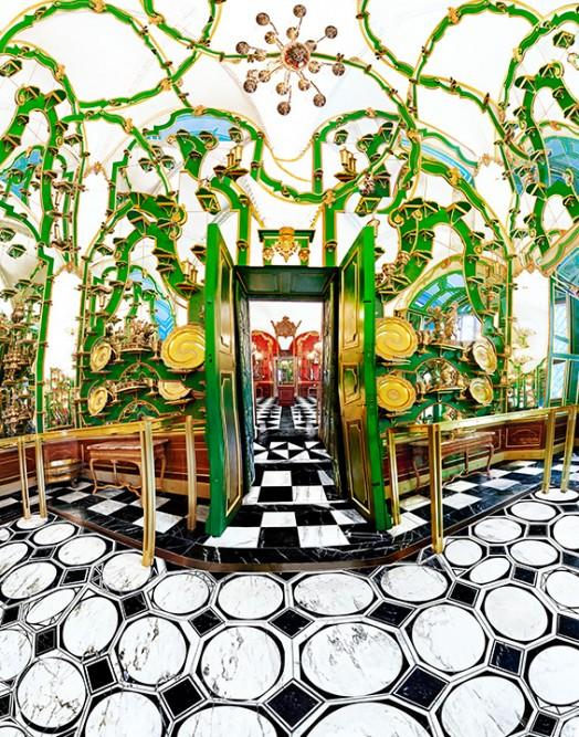 """Green Vault"" by Raissa Venables. Copyright 2010."