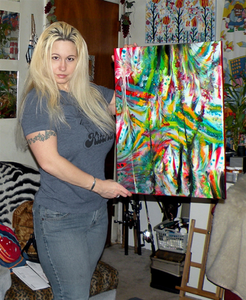 Art, Image and Breasts copyright Kira Ayn Varszegi.