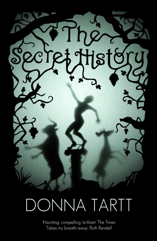The Secret History bookcover. Art by Kyle Bean for novel by Donna Tartt.