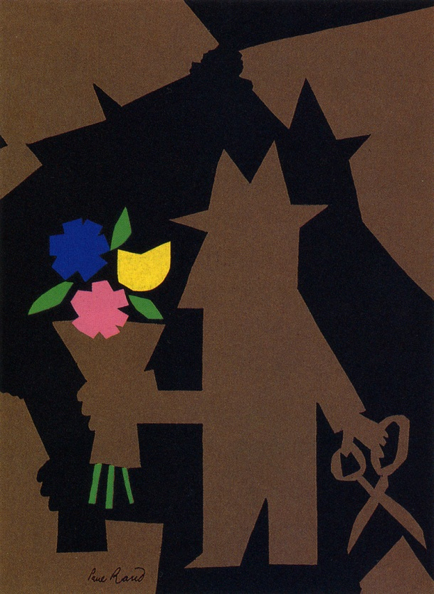 """Dupont Advert"" Art and Image copyright Paul Rand."
