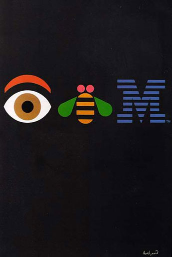 """EyeBeeM"" 1981. Art and Image copyright Paul Rand."