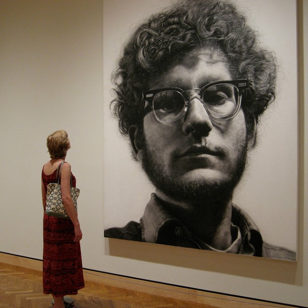 All images and art copyright Chuck Close.