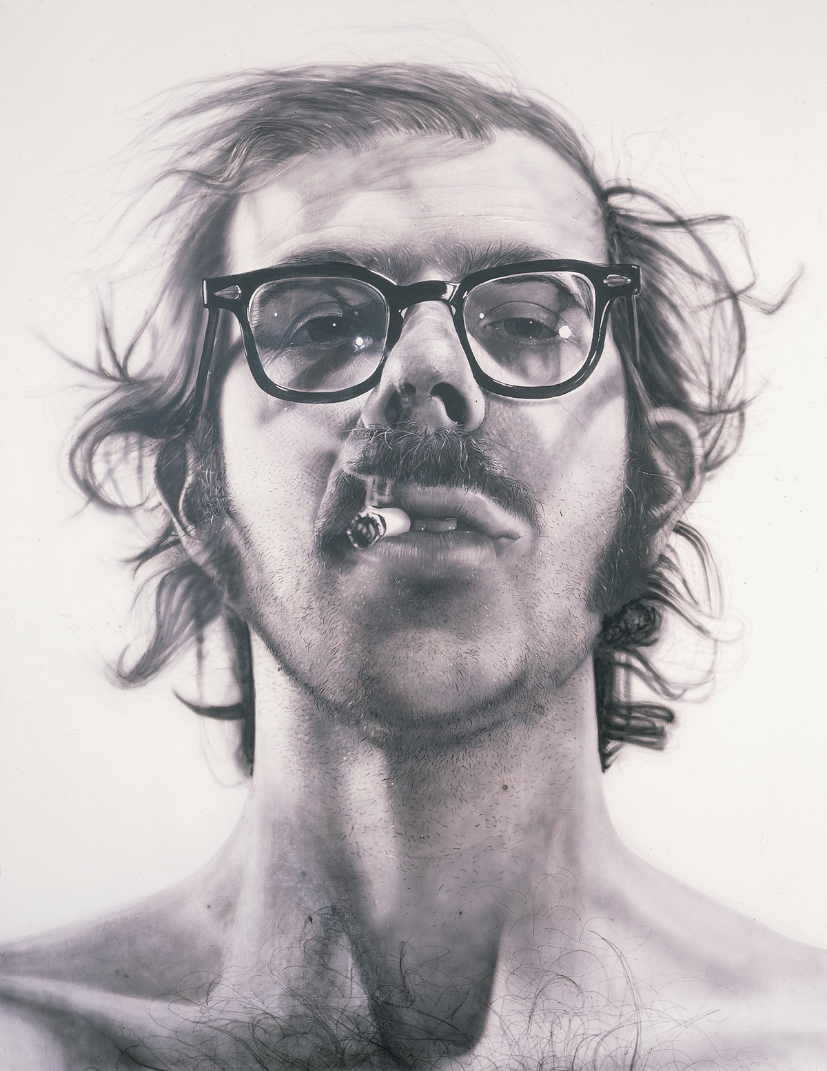 A Man And His Grid Artist Chuck Close Give Us Art