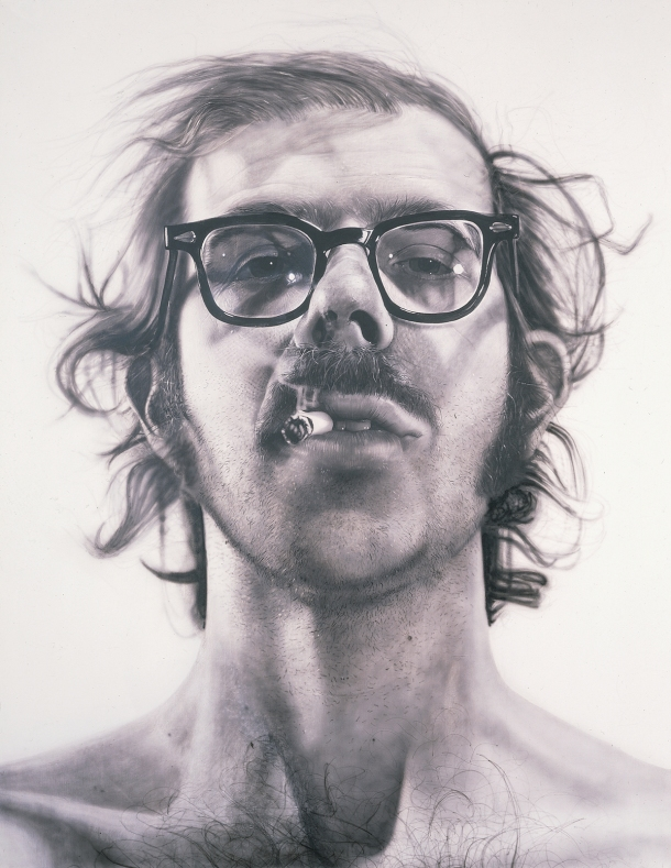 The Big Self Portrait by Chuck Close. All rights reserved.