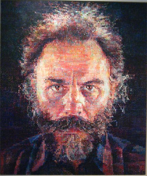 A Man and his Grid! Artist Chuck Close! – Give Us Art