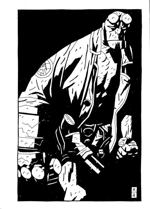 Unfinished Business. Copyright Mike Mignola. All rights reserved.