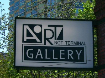 Art/Not Terminal Gallery 2045 Westlake Avenue, Seattle WA. Phone 206.233.0680