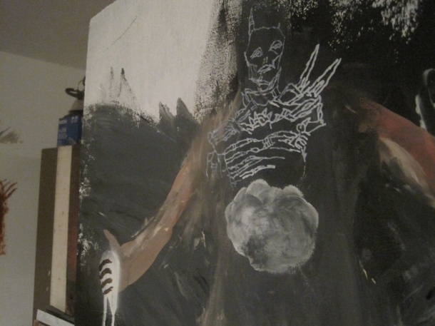"Behind the scenes look at ""Thunderbird"" The new show by Artist Obi Kaufmann"