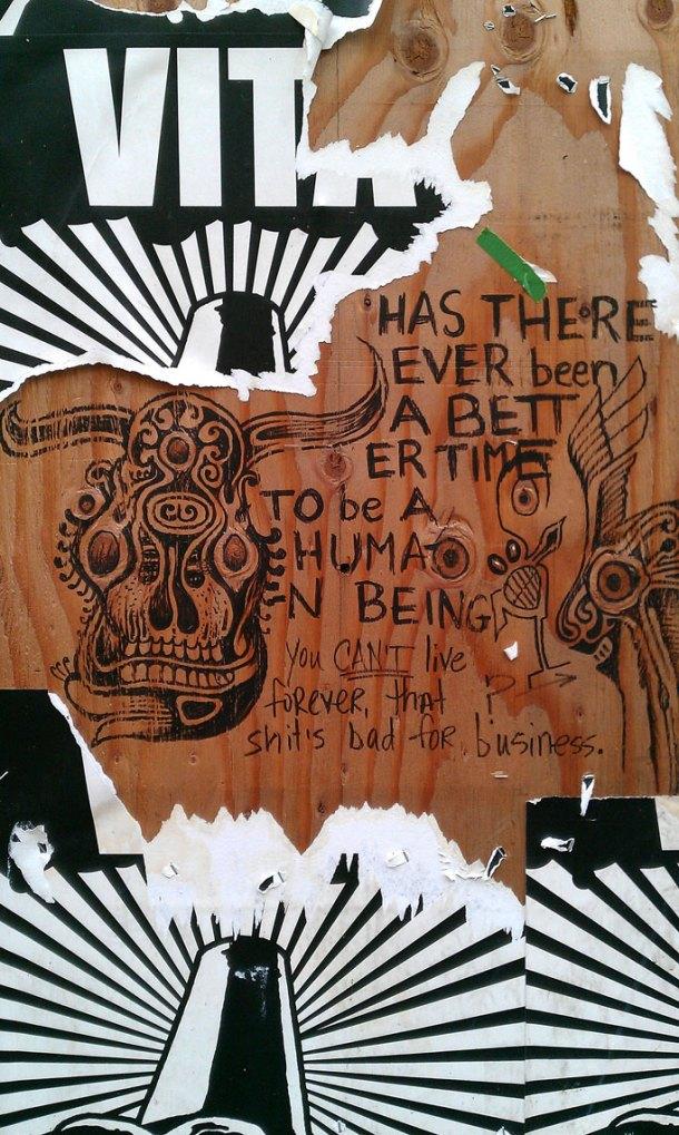 Street Art in Portland, OR.