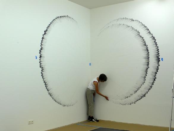 Installation pt 1. Art by Judith Braun. All rights reserved.