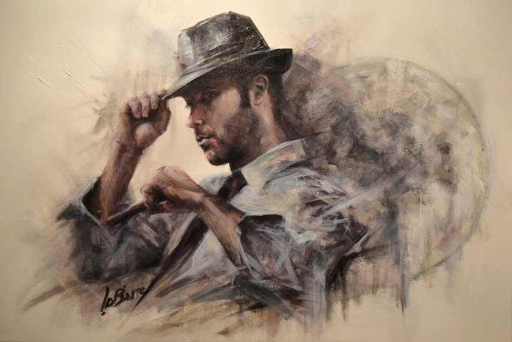 If Tom Waits Was A Painter The Lounge Inspired Art Of