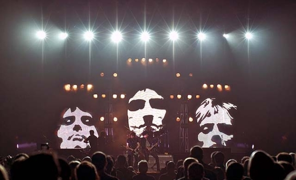 The Queen Extravaganza, brainchild of Queen drummer Roger Taylor and guitarist Brian May.