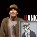 The character Hank from the show 'Dirt' by John Morello.