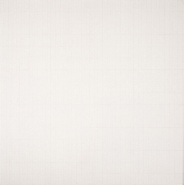 'The Rose' by Agnes Martin 1965. All rights reserved.