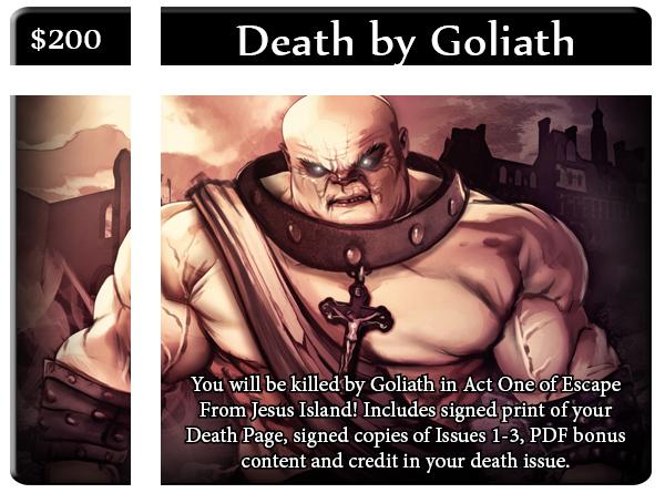 Death by Goliath