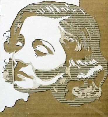 cardboard-portraits