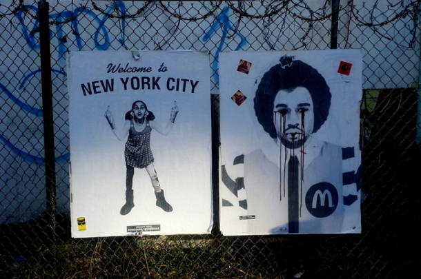 Welcome to NY. The intro to the Bowery Wall during my visit.