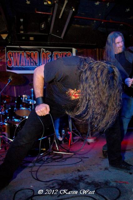 Metal thrashing mad. Randy and George of Swarm of Eyes.
