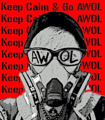KEEP CALM & GO #AWOL