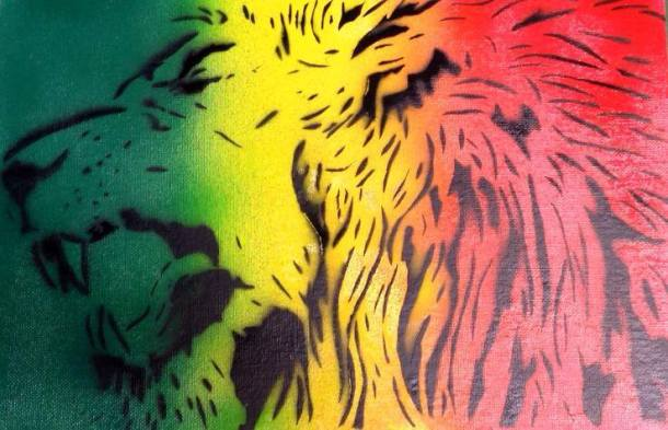 Lion stencil_AWOL