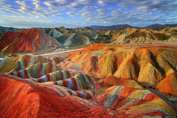 China's Rainbow Mountains