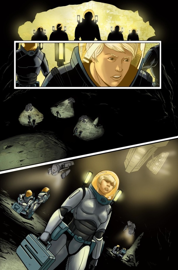 Judas Breed - Page 7. Art by Ryan Best