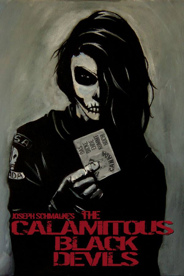 The Calamitous Black Devils Cover. Art by Joseph Schmalke