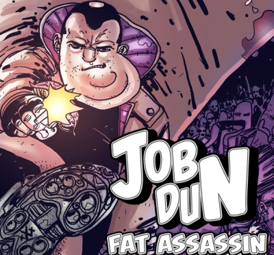Job Dun, Fat Assassin. Art by Ben Michael Byrne. All rights reserved.