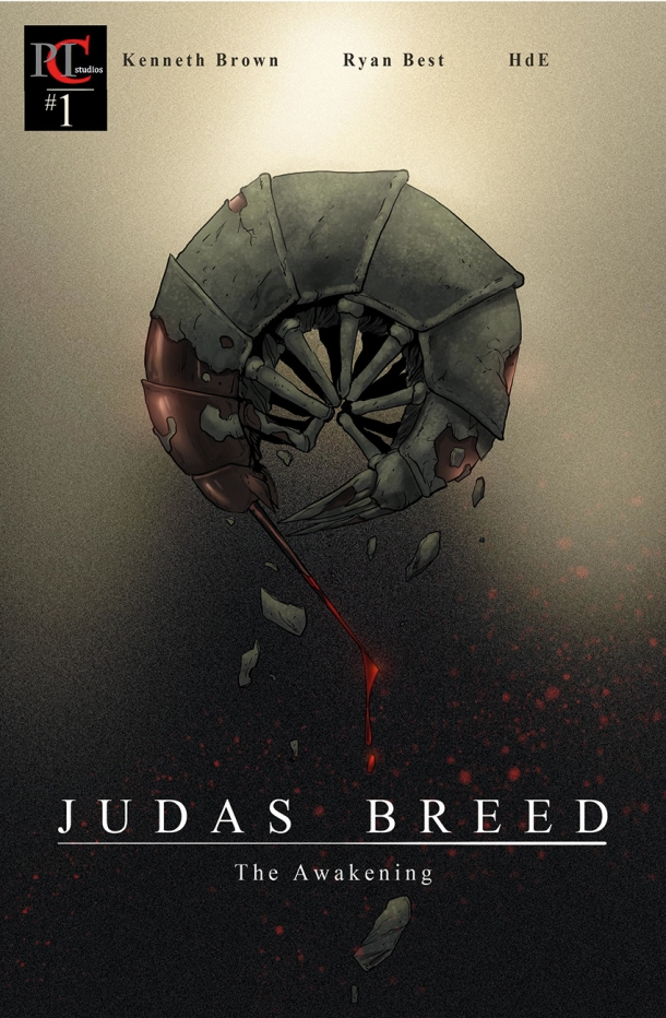 Judas Breed Cover #1.  Copyright PenInkColor Studios 2014. All rights reserved.