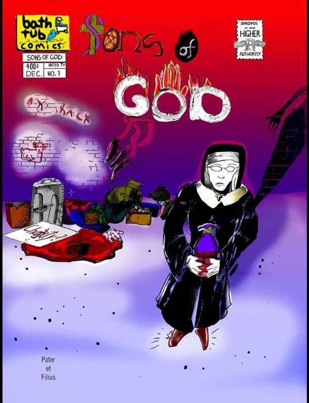 Sons of God #1 Cover. Art by Jojo. All rights reserved.