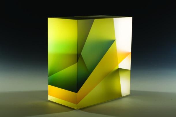 green leaf cuboid by Jiyong Lee