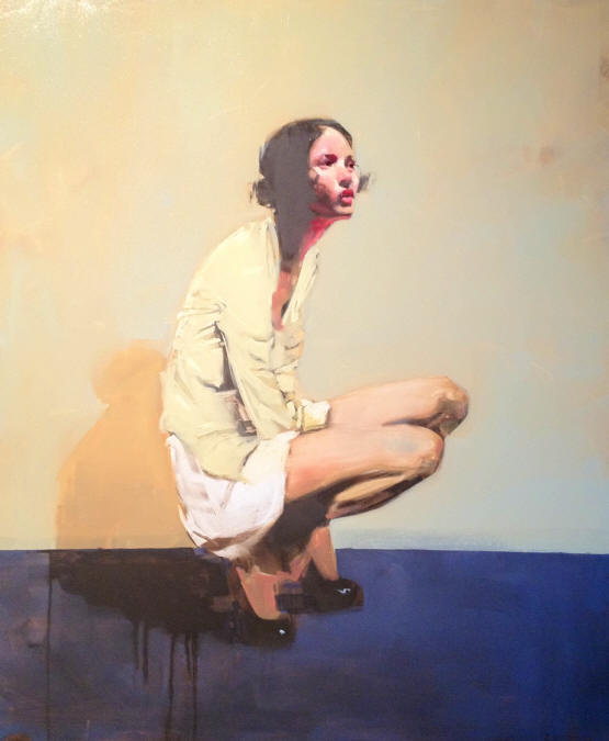 Painting by American contemporary artist Michael Carson. All rights reserved.