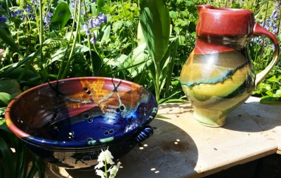 Pottery from Orcas Island Pottery. Photo by Shawn Greenleaf.