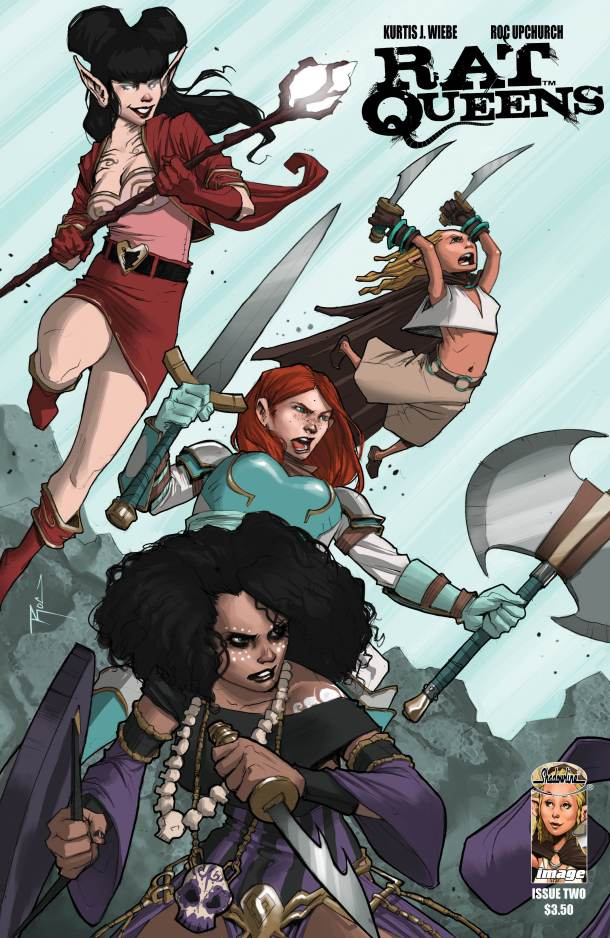 The Rat Queens by Kurtis J. Wiebe and Roc Upchurch. All rights reserved.