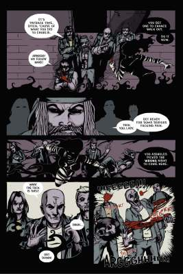The Infernal Pact #2, Page 17. Art and story by Joseph Schmalke. Lettering by Shawn Greenleaf.