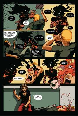 The Infernal Pact #2, Page 24. Art and story by Joseph Schmalke. Editing and lettering by Shawn Greenleaf.
