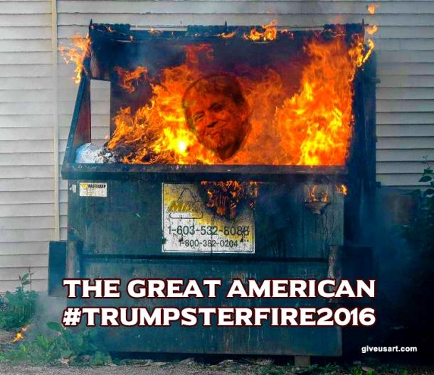 trumpsterfire2